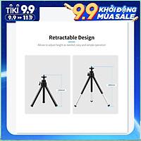 Portable Webcam Tripod Lightweight Mini Webcam Tripod for Smartphone Webcam Desktop Tripod Phone Holder Table Stand