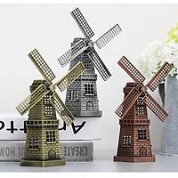Trang trí phòng khách đồ trang trí châu Âu Mô hình cối xay gió Hà Lan