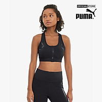 PUMA - Áo bra thể thao nữ Train High Impact Front Zip-520295-01