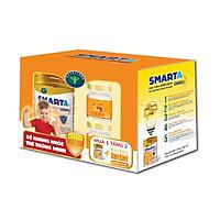 Combo: mua 01 lon sữa bột Smarta IMMU 900gr Tặng 02 hũ yến sào cao cấp Nunest Kids Grow (Vị Cam)