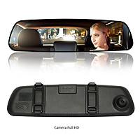 Camera ghi hành trình kiêm gương chiếu hậu trên ô tô FS309L