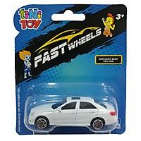 Đồ Chơi Xe Tốc Độ FastWheels 3 Inch - 342000S - Bercedes Benz E63 AMG - Màu Trắng