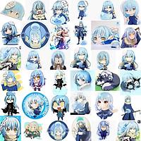 Ảnh Sticker Rimuru Tempest 30-60 cái/Hình dán Tensei Shitara Slime Datta ken