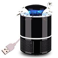 Đèn bắt muỗi hình trụ đầu cắm USB an toàn hiệu quả cho gia đình