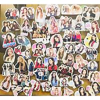 Ảnh sticker BLACKPINK combo 50 cái ảnh nhóm và thành viên