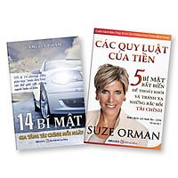 Bộ 2 Cuốn Sách: 14 Bí Mật Gia Tăng Tài Chính Mỗi Ngày + Các Quy Luật Của Tiền