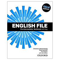 English File: Pre-intermediate. Workbook with key and iChecker