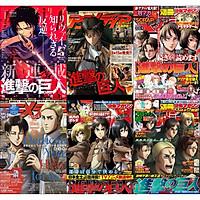 ( 6 tấm ) Poster ATTACK ON TITAN ĐẠI CHIẾN TITAN tranh treo A4 album ảnh in hình anime chibi đẹp treo tường trang trí