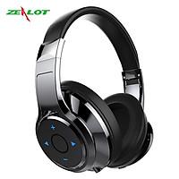 Tai nghe bluetooth chụp tai Zealot hàng chính hãng kết nối ổn định, âm bass siêu trầm đeo lâu không gây đau tai
