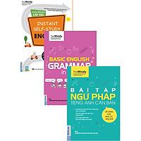 Bộ Sách Tự Học Tiếng Anh Ở Nhà ( Ngữ Pháp Tiếng Anh Căn Bản + Bài Tập Ngữ Pháp Tiếng Anh Căn Bản + Tự Học Tiếng Anh Cấp Tốc ) tặng kèm bookmark TH