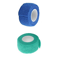 2 Roll Self-adhesive Bandages Finger Plasters Finger Bandage Wound Tape Sports