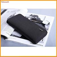 Ví dài nam, bóp ví dài cầm tay thời trang có khoá và ngăn thẻ