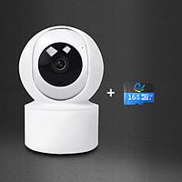 Camera Wifi phân giải 2.0Mpx [1080HD], xoay theo chuyển động, đàm thoại 2 chiều YH200