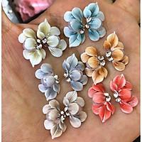 Sản phẩm trang trí móng , vẽ nổi, Nail desige , hoa vẽ nổi. Hoa nổi 4D ,Fantasy ,set 2 hoa theo màu.Hoa dễ bẻ from móng(hàng vẽ tay không đổ khuôn )