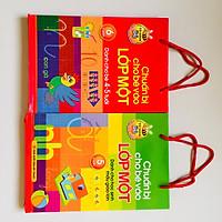Combo 2 túi - Chuẩn Bị Cho Bé Vào Lớp 1 (4-5 tuổi ) - (5-6 tuổi)