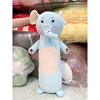 Gối ôm , gấu bông hình voi xanh 70cm