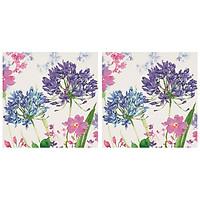 Combo 2 Xấp Khăn Giấy Ăn Trang Trí Bàn Tiệc Tissue Napkins Design Ti-Flair 367747 (33 x 33 cm) - 40 tờ