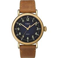 Đồng hồ Dây Da Nam Timex Standard 40mm Leather Strap Watch - TW2T20000
