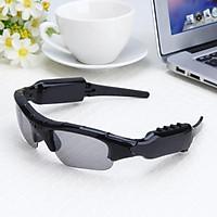 Bluetooth Sunglasses HD Headset Headphone DVR for Sports Running Eyewear