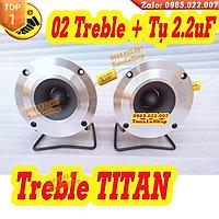 LOA TREBLE PIONEER TITAN 3 VÍT KÈM CHÂN RỜI VÀ TỤ 2,2MF - BỘ 2 LOA PIO 15