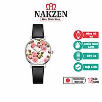 Đồng hồ Nữ Cao Cấp Nakzen Nhật Bản - SL9001LBK-7 - Hàng Chính Hãng