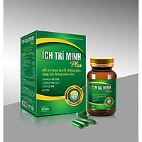Thực phẩm bảo vệ sức khỏe Ích Trí Minh Plus - Hỗ trợ hoạt huyết dưỡng não, tăng lưu thông máu não
