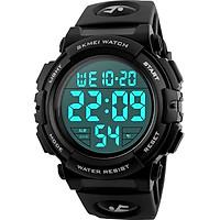 SKMEI Man Watch Wristwatch Fashion Watch Multifunction Waterproof Outdoor Sports Luminous Watch 1258 Army Green