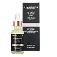 Tẩy da chết hóa học Revolution Quinoa Night Peel 30ml