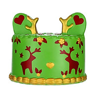 Gobestart Squishies Deer Cake Super Slow Rising Fruits Scented Squeeze Stress Relief Toys