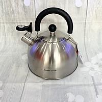 Ấm đun nước bằng inox 304 Smartcook 2.5L -SM 3372 - Săn phẩm của tập đoàn Elmich Cộng hòa Séc - Thể tích : 2,5 lít - Bảo hành chính hãng 24 tháng- Sử dụng được với nhiều loại bếp như bếp điện, bếp từ, bếp gas… và các loại bếp khác.
