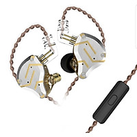 Tai nghe KZ ZS10 PRO - 10 Driver cho chất âm tuyệt vời Kiểu dáng đẹp có Micro - Hàng chính hãng