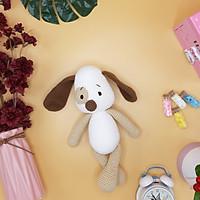 Gấu bông móc len Amigurumi cao cấp - Chó tai to - SP000236