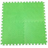 Bộ 4 Miếng Thảm Xốp Mềm Lót Sàn Màu xanh lá 60x60cm/miếng