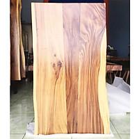 Mặt bàn gỗ me tây ghép tự nhiên dài 150cm rộng 79cm