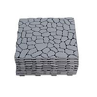 50 Tấm Sàn Gỗ Vỉ Nhựa Hình Viên Sỏi (Nhựa Gỉa Gỗ)