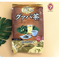 Trà ổi giảm cân Orihiro Nhật Bản (60 gói) tặng gói trà sữa hoặc cafe ngẫu nhiên