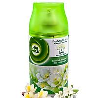 Bình xịt tinh dầu thiên nhiên Air Wick Freesia & Jasmine 250ml QT016836 - hương hoa nhài