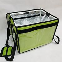 Túi giữ nhiệt giao hàng 44L xanh lá
