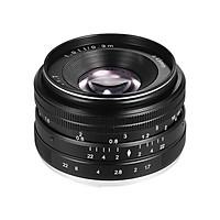 Lens Lấy Nét Thủ Công Cho Sony (35mm F/1.7) - Màu Đen