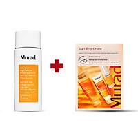 Kem chống nắng khoáng chất Murad City Skin Age Defense Broad Spectrum SPF 50 50ml TẶNG Set tan nám Start Bright Here