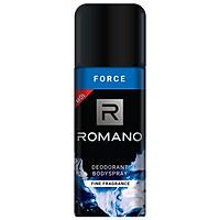 Xịt Khử Mùi Toàn Thân Cho Nam Romano Force (150ml)