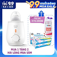Máy Hâm sữa & thức ăn siêu tốc Philips Avent