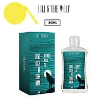 Dung dịch vệ sinh nam LOLI & THE WOLF chai nhỏ gọn 80ml - Hương Original Nam Tính, Tặng Kèm Mút Rửa Mặt