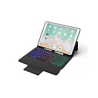 Bao da kiêm Bàn phím Bluetooth đèn LED 7 màu cho iPad Mini 5, Air 3 2019, 11 Inch, Pro 10.5 inch - Hàng nhập khẩu