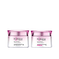 Combo dưỡng da sáng mịn Bio-essence Bio-White Kem dưỡng ngày và đêm (50gr x2)
