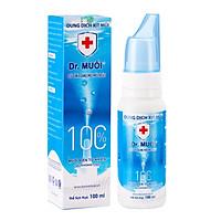 Dung dịch xịt mũi Dr. Muối (100ml) (Ngừa vi khuẩn + Bảo Vệ Xoang + Thơm Thoáng mũi)