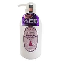Sữa Dưỡng Thể J'WHITE SUN PROTECTION BODY Dưỡng Trắng, Bật Tông, Chống Nắng Toàn Thân SPF50+ PA++++ 450ML