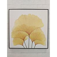Tranh canvas Chiếc lá vàng
