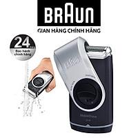 Máy cạo râu du lịch dùng pin AAA Braun M90 - Nhập khẩu tại Đức - Bảo hành chính hãng toàn quốc 2 năm
