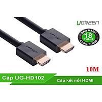 Cáp Tín Hiệu HDMI 10m Ugreen 10110 Hỗ Trợ 2k * 4K Chính Hãng